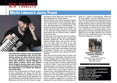 JAZZ'N'MORЕ magazine review